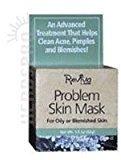 Reviva Labs Problem Skin Mask Oily Blemished Skin - 1.5 Oz, Pack of 2