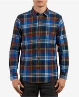 Volcom Men's Caden Plaid Flannel Shirt