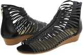 Enzo Angiolini Nimbus (Black/Black Leather) - Footwear