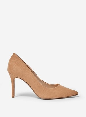 Dorothy Perkins Womens Tan 'Dele' Court Shoes