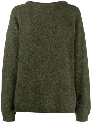 Acne Studios Oversized Crew Neck Jumper