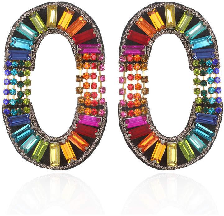 Suzanna Dai La Serenissima Hoop Earrings