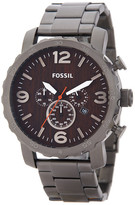Fossil Men's Nate Chronograph Bracelet Watch