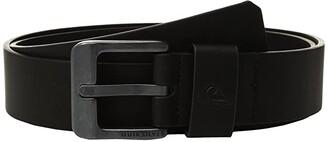 Quiksilver Main Street II Belt (Black) Men's Belts