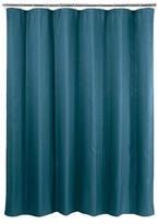 Nobrand No Brand Basket Weave Shower Curtain - Dark Teal