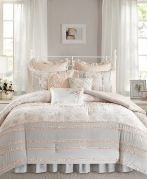 Madison Home USA Serendipity Cotton 7-Pc. Twin/Twin Xl Duvet Cover Set Bedding