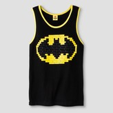 Batman Boys' LEGO Logo Graphic Tank Top - Black