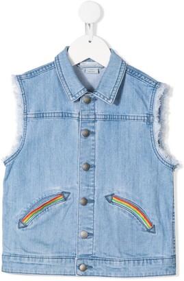 Stella McCartney Sleeveless Denim Jacket