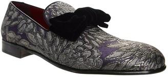 Dolce & Gabbana Purple Velvet Flats