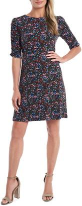 CeCe Puff Sleeve Knit Dress