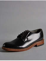 Autograph Leather Lace Up Chunky Derby Shoes