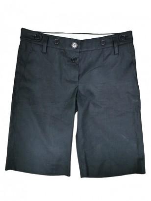 Chloé Black Cloth Shorts
