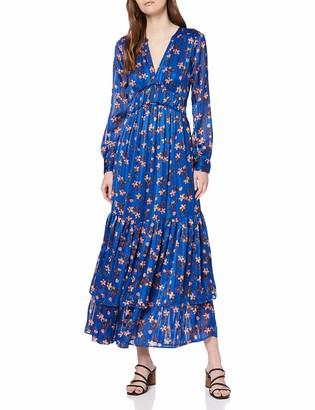 Scotch & Soda Maison Women's Midi Dress with Piping Details
