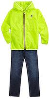 K-Way Boy's Claude Klassic Packable Waterproof Jacket