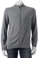 Croft & Barrow Men's Classic-Fit 12gg Full-Zip Sweater