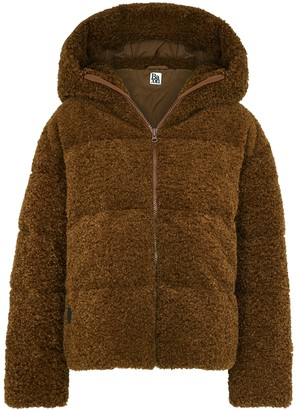 Bacon New Cloud Brown Quilted Faux Shearling Jacket