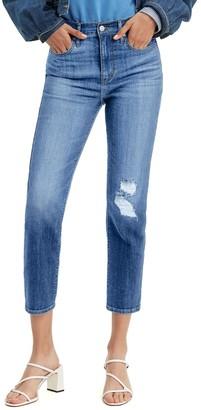 Levi's Women's 724 High Rise Straight-Leg Crop Jeans