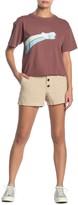 O'Neill Morrison Button Fly Linen Blend Shorts