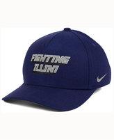 Nike Illinois Fighting Illini Local Dna Verbiage Swoosh Flex Cap
