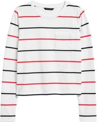 Banana Republic Cotton Crew-Neck T-Shirt
