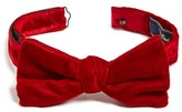 David Donahue Men's Velvet Bow Tie