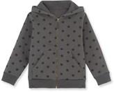 Petit Bateau Boys hooded star print sweatshirt