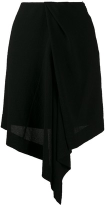 Nina Ricci Lightweight Asymmetric Skirt