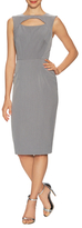 Ava & Aiden Sleeve Cut-Out Sheath Dress