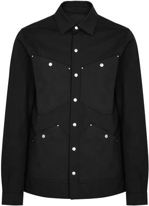 Rick Owens Black studded twill jacket