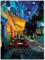 "'Cafe Terrace' by Vincent van Gogh 24"" x 32"" Canvas Print"