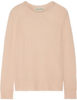 By Malene Birger Rasminy Distressed Stretch-knit Sweater - Blush
