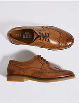 Marks and Spencer Kids' Leather Brogue Shoes