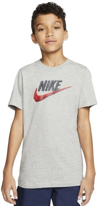 Nike Boys 8-20 Faux Embroidery Graphic Tee