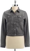 DKNY Embellished Denim Jacket