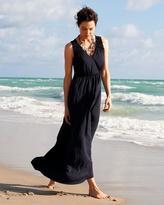 Coldwater Creek Grecian maxi dress