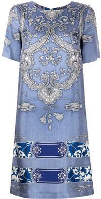 Etro Bandana Print Shift Dress