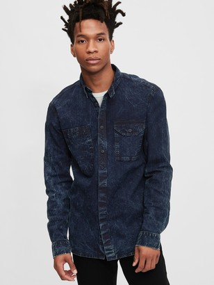 Gap 1969 Premium Denim Worker Shirt