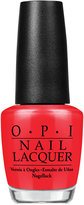 OPI Nail Lacquer, Color So Hot It Berns