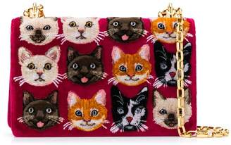 Dolce & Gabbana Girls cat cross-body bag
