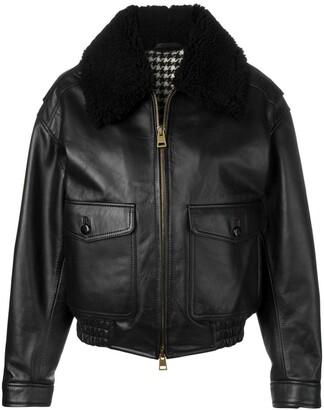 Ami Oversized Zipped Jacket