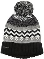 Nine West Women's Fairisle Hat with Lurex Shine