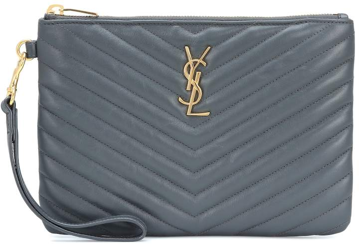monogram-leather-pouch by saint-laurent