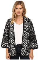 Velvet by Graham & Spencer Yolo Poncho Cardi