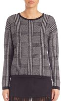 Soft Joie Joie Yandel Brushed Plaid Sweater