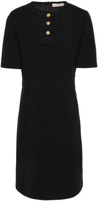 Tory Burch Ruffle-trimmed Crepe Dress