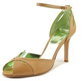 Ernesto Esposito Pretty Girl Peep-toe Leather Heels.