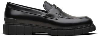 Car Shoe Block penny-slot loafers