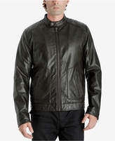 Michael Kors Men's Fleece-Lined Faux Leather Jacket