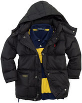 Ralph Lauren Boys 2-7 Hooded Elmwood Puffer Jacket