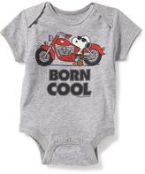 "Old Navy Snoopy® ""Born Cool"" Bodysuit for Baby"